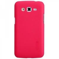 Чехол пластиковый матовый премиум для Samsung Galaxy Grand / Grand Neo Красный