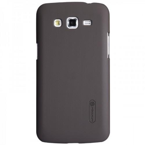 Чехол пластиковый матовый премиум для Samsung Galaxy Grand / Grand Neo Черный