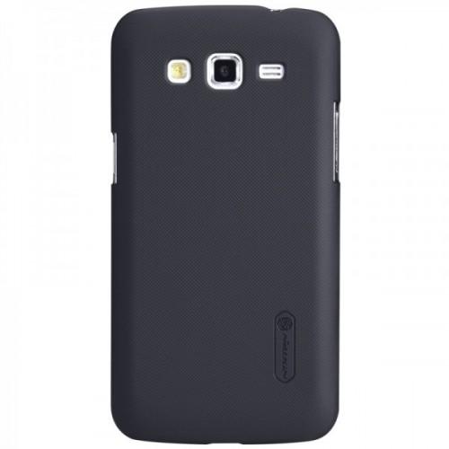Чехол пластиковый матовый премиум для Samsung Galaxy Grand / Grand Neo Коричневый