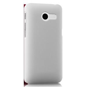 Пластиковый чехол серия Metallic для ASUS Zenfone 4 (A400CG) Белый