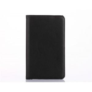 Роторный чехол книжка подставка на непрозрачной поликарбонатной основе с поддержкой кисти для Huawei MediaPad T3 10 Черный