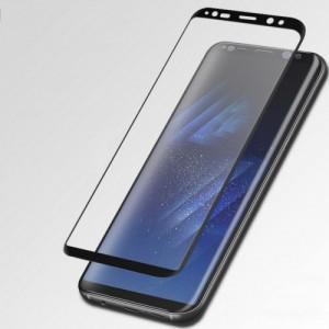 Полноэкранное ультратонкое износоустойчивое сколостойкое олеофобное защитное стекло-пленка для Samsung Galaxy S8