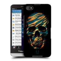 Пластиковый матовый дизайнерский чехол с принтом серия Scull для Blackberry Z30