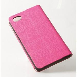 Текстурный чехол флип подставка на присоске для Blackberry Z30 Пурпурный