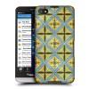 Пластиковый матовый дизайнерский чехол с принтом серия Abstract для Blackberry Z30