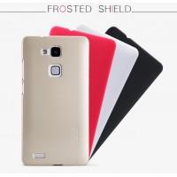 Пластиковый матовый нескользящий премиум чехол для Huawei Ascend Mate 7