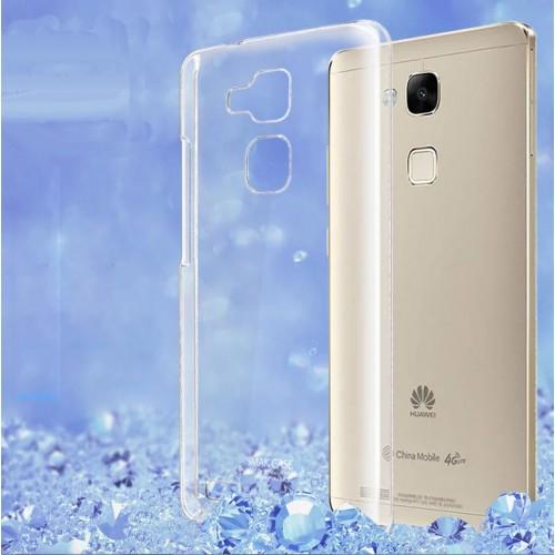 Пластиковый транспарентный чехол для Huawei Ascend Mate 7