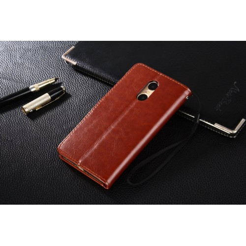 Глянцевый чехол портмоне подставка на пластиковой основе на магнитной защелке для Xiaomi RedMi Pro