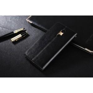 Глянцевый чехол портмоне подставка на пластиковой основе на магнитной защелке для Xiaomi RedMi Pro Черный