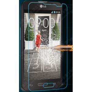 Ультратонкое износоустойчивое сколостойкое олеофобное защитное стекло-пленка для LG L70