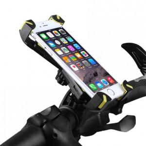 Двухплоскостной велосипедный держатель на руль для гаджетов 3.5-6.5 дюймов