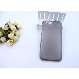 Силиконовый матовый полупрозрачный чехол для ZTE Blade Z10 Серый