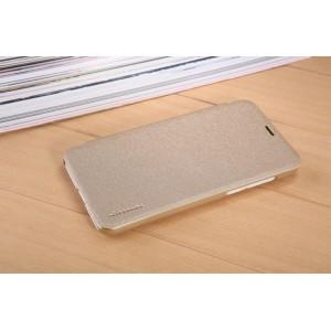 Текстурный чехол смартфлип на пластиковой матовой нескользящей основе для Meizu M2 Mini