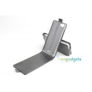 Чехол вертикальная книжка на пластиковой основе с магнитной застежкой для Fly IQ4501 EVO Energie 4 Quad