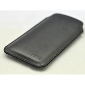 Кожаный мешок для HTC Desire 816 Черный