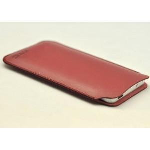 Кожаный мешок для HTC Desire 816 Красный