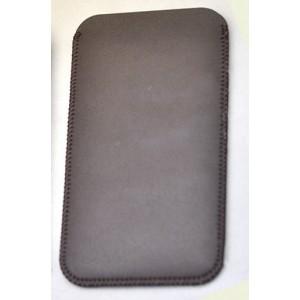 Кожаный мешок с внешним карманом для HTC Desire 816 Коричневый