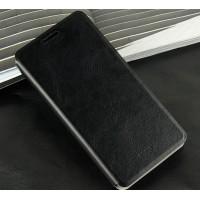 Чехол флип подставка водоотталкивающий для Fly IQ4501 EVO Energie 4 Quad Черный