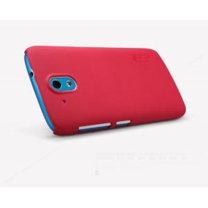 Пластиковый матовый нескользящий премиум чехол для HTC Desire 526