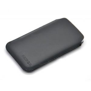 Кожаный мешок для Nokia XL Черный