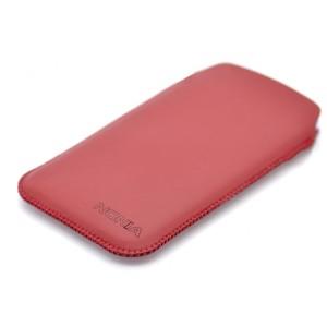 Кожаный мешок для Nokia XL Красный