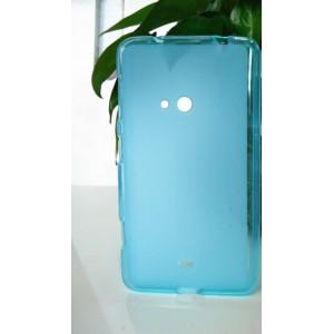 Силиконовый матовый полупрозрачный чехол для Nokia Lumia 625