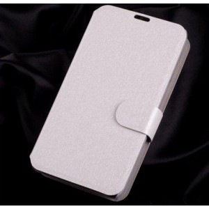 Текстурный чехол флип подставка на пластиковой основе с магнитной застежкой и отделением для карт для Nokia Lumia 530