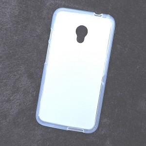 Силиконовый матовый полупрозрачный чехол для Alcatel Pixi 4 (5) 4G 5045d 5045x Белый
