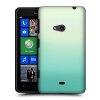 Градиентный пластиковый чехол для Nokia Lumia 625 Зеленый
