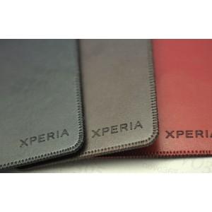 Кожаный мешок для Sony Xperia T2 Ultra Коричневый
