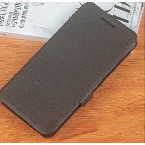 Чехол флип подставка на силиконовой основе текстура Дерево для Philips S396