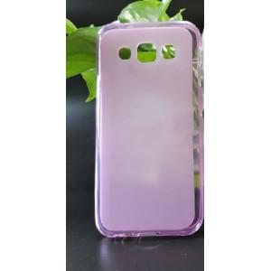 Ультратонкий силиконовый матовый полупрозрачный чехол для Samsung Galaxy E5