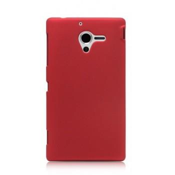 Чехол пластиковый для Sony Xperia ZL Красный