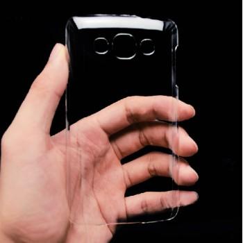 Пластиковый транспарентный чехол для LG L60