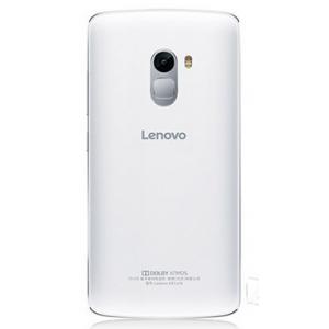 Силиконовый матовый полупрозрачный чехол для Lenovo A7010 Белый