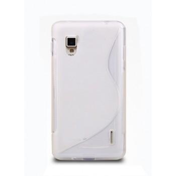 Чехол силиконовый для LG Optimus G E973 Белый