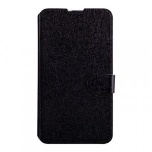 Текстурный чехол флип подставка на пластиковой основе с магнитной застежкой для Sony Xperia E4g