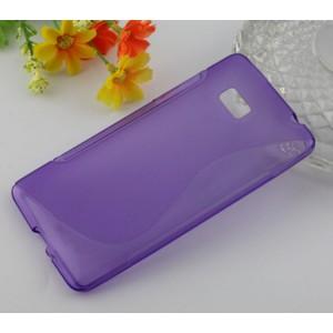 Силиконовый чехол S для HTC Desire 600 Фиолетовый