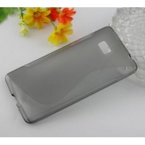 Силиконовый чехол S для HTC Desire 600 Черный