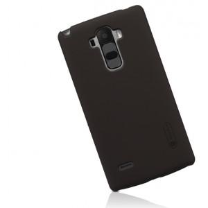 Пластиковый матовый нескользящий премиум чехол для LG G4 Stylus