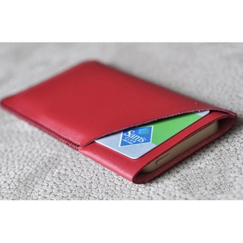 Кожаный мешок с отсеком для карт для Samsung Galaxy Note 7