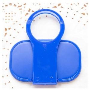 Складная универсальная пластиковая подставка для зарядки гаджетов Синий
