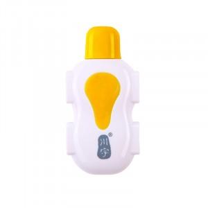 Микро хаб разветвитель на 4 слота USB Желтый