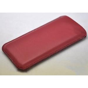 Кожаный мешок для Huawei Honor 6 Plus Красный