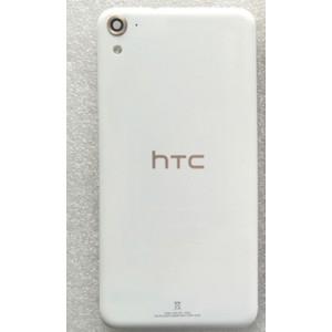 Пластиковый непрозрачный матовый встраиваемый чехол для HTC One E9s dual sim Белый