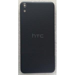 Пластиковый непрозрачный матовый встраиваемый чехол для HTC One E9s dual sim Черный