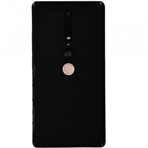 Силиконовый матовый полупрозрачный чехол для Lenovo Phab 2 Pro Черный