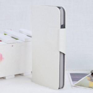 Чехол флип подставка с магнитной застежкой для HTC Desire 300 Белый