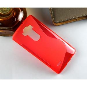 Силиконовый S чехол для LG G Flex 2 Красный