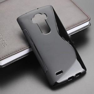 Силиконовый S чехол для LG G Flex 2 Черный
